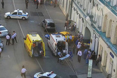 莫斯科撞人事故主角公开道歉 称把油门错当刹车