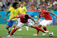 朱晓雨点评:巴西进球后松懈 瑞士手表上润滑剂