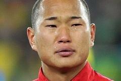 组图:相仿郑大世!巴拿马首登世界杯 队长落泪