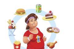 运动饮食三二开,周身肥肉掉下来