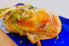 电饭锅版盐焗大鸡腿, 只需两步