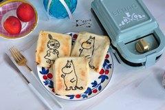 不用平底锅,不用烤箱,做出香甜柔软的卡通夹馅饼,孩子超喜欢吃