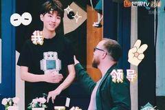 王俊凯《中餐厅2》表情包好萌啊!图片