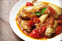 懒人食谱 自己种的香料,自己做的鸡翅,怎么也要吃完