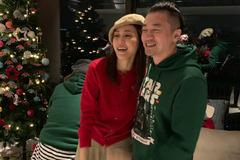 范玮琪王力宏等人欢度圣诞, 苏有朋绿衣出镜差点没认出