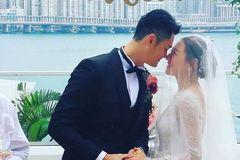 与曹云金分手后,江若琳和他十年友情变爱情,风光出嫁