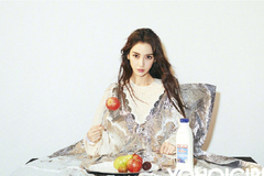 杨颖最新时尚杂志照片曝光,百变风格轻松驾驭颜值持续在线