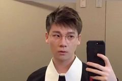 """短""""逗号""""刘海发型,让你帅一整天,不散~"""