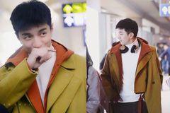 本以为金瀚穿西装已经够帅了,直到看到他穿大衣,却直接惊艳了!