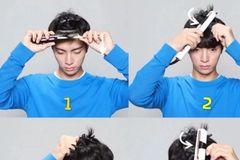#分享一款韩国最流行的空气感刘海造型