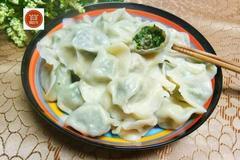 用这野菜包饺子,让饺子更有味,一个字,香!没吃过真是遗憾!
