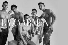 与5个赤裸的Z世代男孩赤诚相见