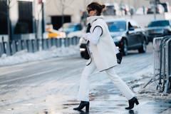 冬天就该有一条白裤子 清爽干净还很显气质