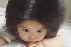 """世界最小代言人出炉:日本1岁""""炸毛宝宝""""出任潘婷品牌大使"""