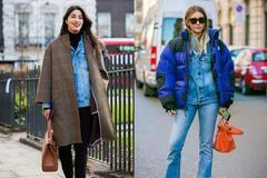 今年明星们也在用的叠穿法,让你过个时髦又保暖的冬天