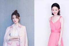 假如张雨绮偷穿了杨超越的粉裙子,这画面太恐怖了