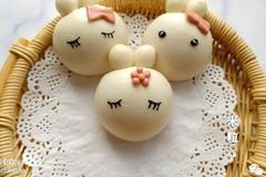一次发酵做法简单-超萌超可爱的卡通小兔馒头