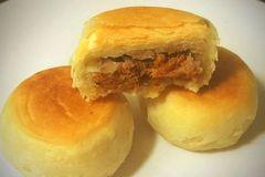 成功率超高的肉松饼(适合初学者尝试)的做法