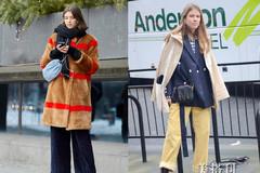 时尚阔腿裤的多样潮搭,让你时髦新潮出街