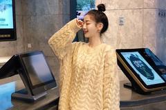 随性时髦的休闲范毛衣,单穿打底都好看呢!