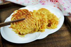别看是蔬菜,蛋白质含量真高,炖菜香,做成这种小饼更是减脂美食