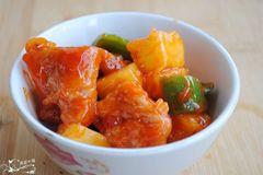 素菠萝咕咾肉,素食者有口福啦,就像吃肉一样