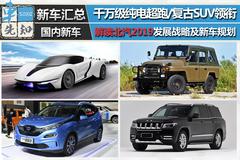 千万级超跑领衔 解读北汽2019年发展战略及新车规划