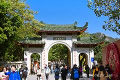 春节免费送春联,不收门票,厦门这个寺庙被游客称为最佛性