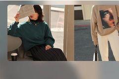 有着电影般的高级感。这家店的毛衣、外套,让你秒变复古时髦精!