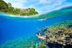 境内拥有七千多个各具特色的岛屿,世界级断层潜水天堂也在这里