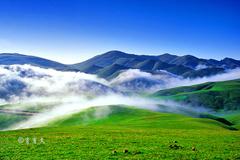 云南这里被评为全国最美地标之一,集雪域高原和大草原的美于一身