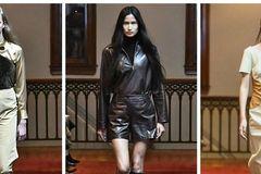 时装周 国模王涵国际脸美炸了,纽约时装周亮相Maryam Nassir Zadeh大秀
