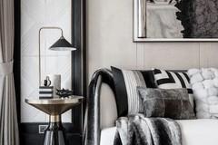 高级黑轻奢样板房, 精致前卫的设计