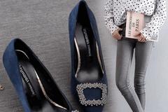高跟鞋穿出女人高度,人总是要试着变得更好,从精致到高级