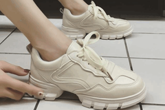 老爹鞋出新款啦!舒适减龄不累脚,复古港风更显时尚品味与气质