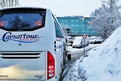 自驾欧洲路上过年,我在巴尔干半岛遭遇风雪,寸步难行却被美到