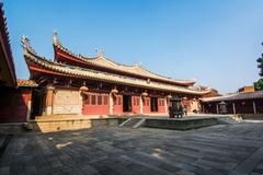 福建第一大的孔子庙,仿皇宫建造却不收门票,今游人稀少!