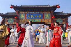 春节假期即将结束,山西司徒小镇依然是客流如潮!