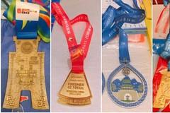 大浙江最全马拉松奖牌曝光!你已经收割了几块?
