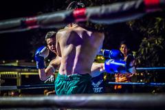面对台上刚劲勇猛的泰拳搏击,你眼中充满更多的是崇拜还是柔情?