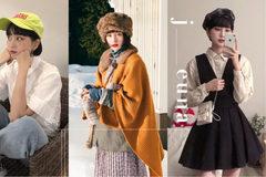 看这位可爱的韩国短发女生,如何用帽子轻松驾驭各种风格造型