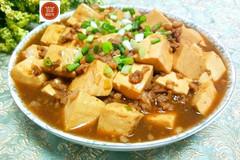肉末烧豆腐真的太下饭了,每次做这道菜,米饭都不够吃!