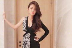 39岁安以轩现身活动,穿豹纹做装饰的连衣裙,凸显完美好身材