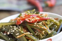 教你制作一盘香辣海带丝, 营养又美味, 最佳下饭凉菜!