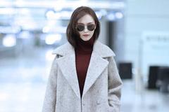 怎么穿大衣显优雅?陈都灵的穿法简单又显好气质!