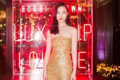 倪妮是人间美人鱼吧?今日纽约出席活动,金色闪光裙女人味十足!