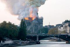 大火焚毁巴黎人的心 Kering及LVMH各捐赠1亿及2亿欧元修复圣母院
