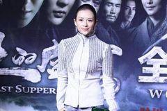 章子怡穿紧身牛仔裤,真实身材曝光,终于相信她102斤了!