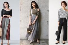 甜美微带些小性感的关键就是小露香肩!时尚女生用一件上衣就搞定