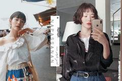 不只是印花衬衫:泰国女孩的惊喜混搭和风及新兴剪裁的泰式着装